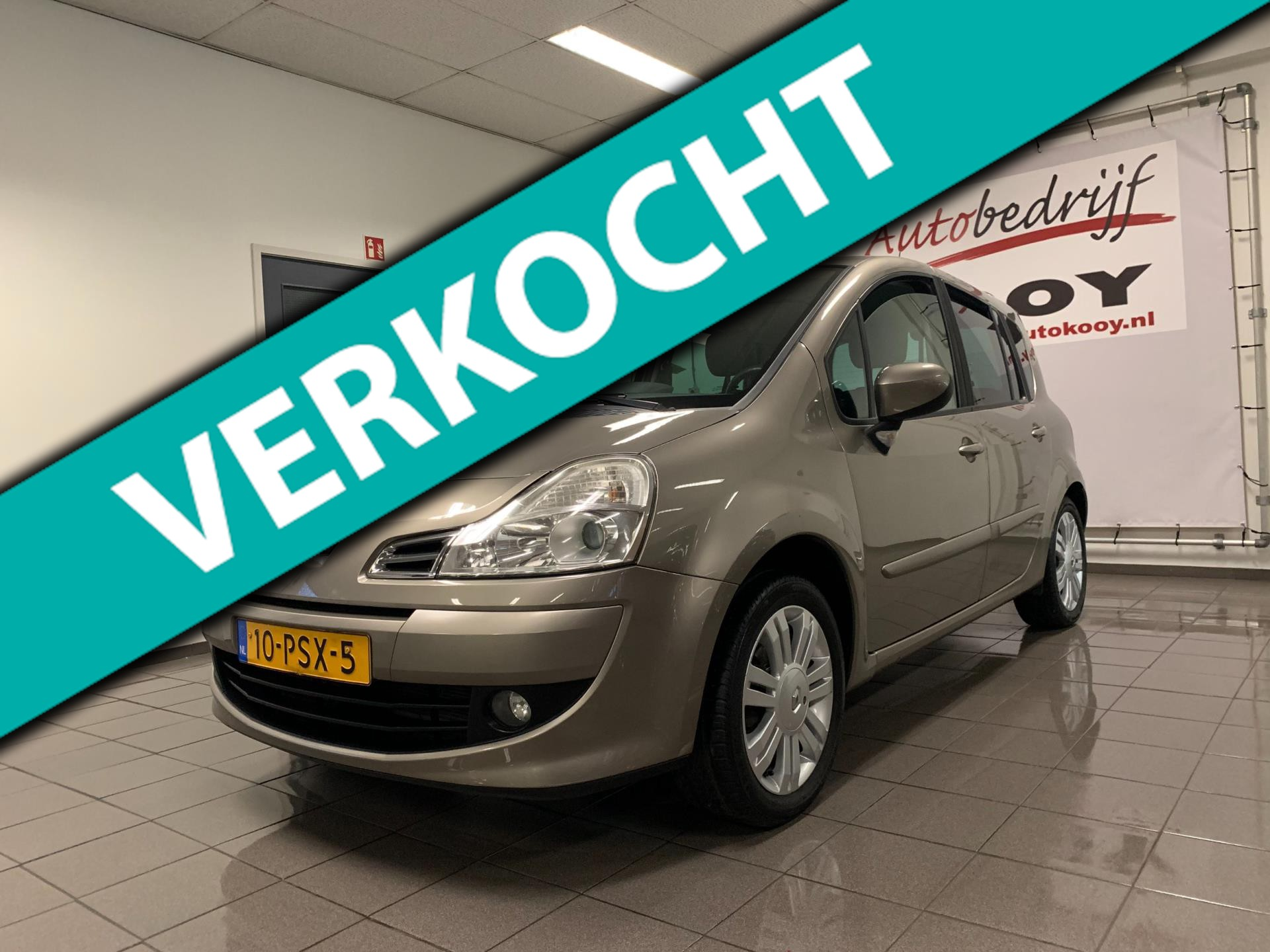 Renault Grand Modus 1.2 TCE Exception * Airco-ecc / Cruise control / Trekhaak *